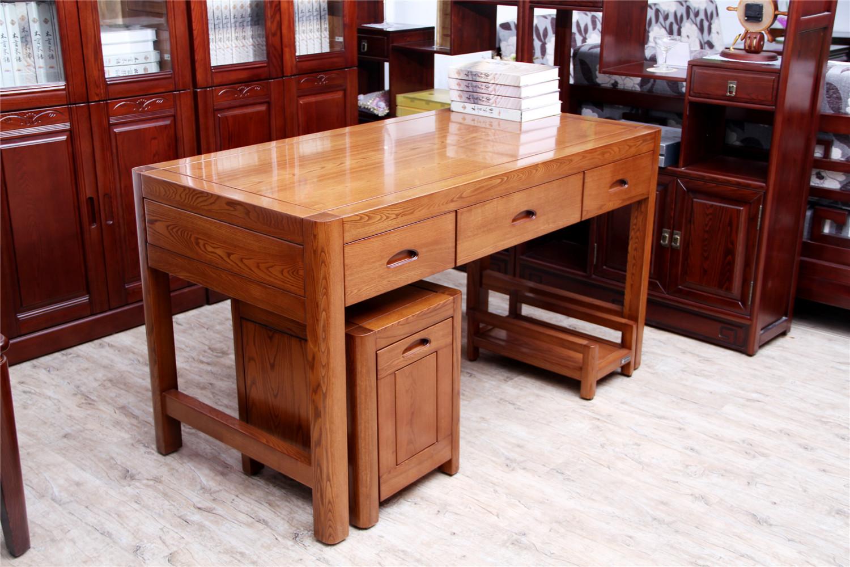 药木家具环保实木电脑桌