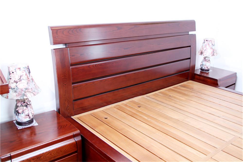 高档实木床608-5